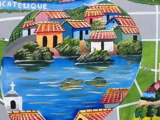 New Murals for Granada, Nicaragua