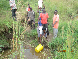 Together we can bring clean, safe water to the people of Lusumo Village, Zambia, eliminating the nec