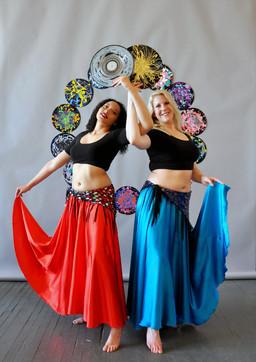 Dina Frigo and Becky Aspell