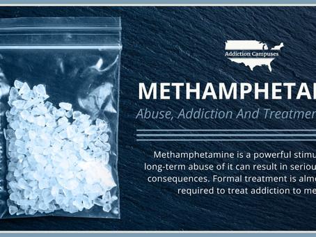 Methamphetamine is still here!