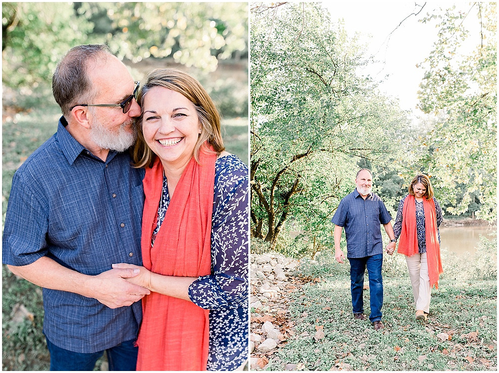 fall couple portraits