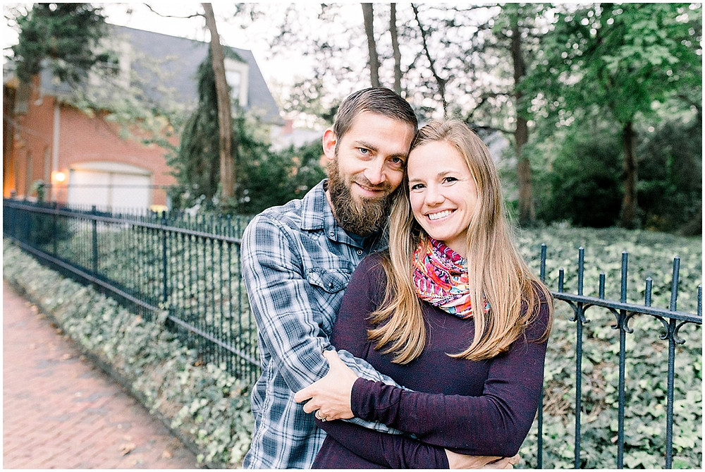 bright and airy couples photographer