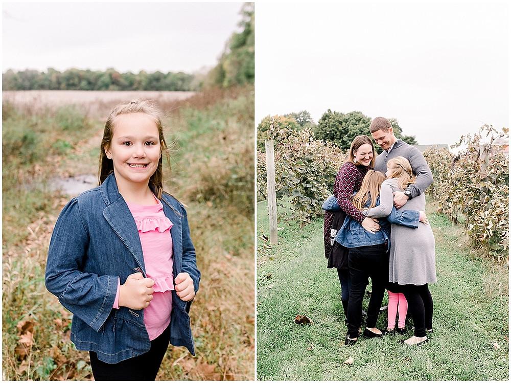 family photos autumn
