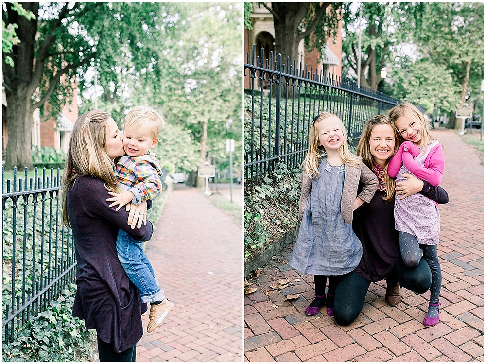 Mommy and me fall photos