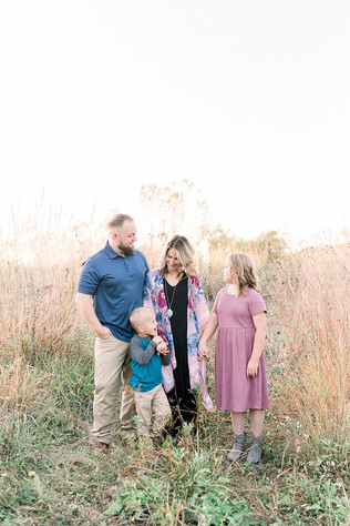 A Fall Family Portrait Session | The Haywood Family | Indianapolis Family Photographer