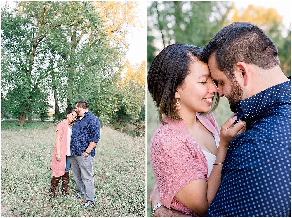 romantic couple portraits