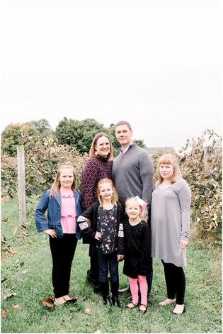 The Kunkel Family | Mallow Run Winery | Indianapolis Family Photographer