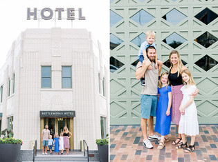 The Miller Family | A Bottleworks District Portrait Session | Indy Family Photographer