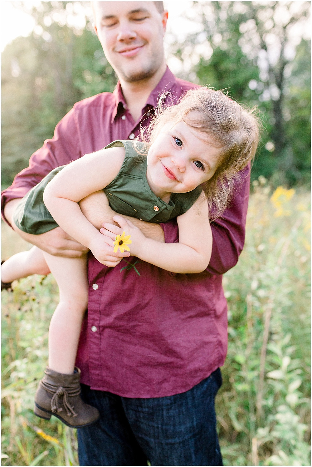 simple childhood family portraits Indianapolis