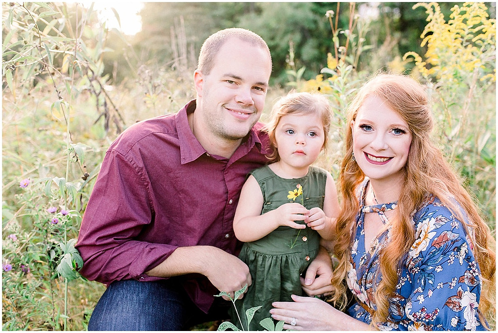 fall family photos at eagle creek park Indianapolis