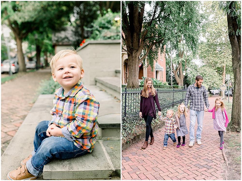 toddler family photos style
