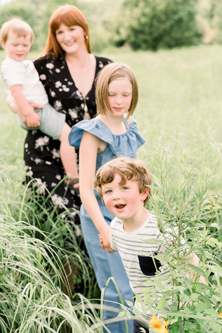 Summer Family Portrait Session | The VanHorn Family | Indianapolis Family Photographer