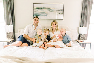 The Leffel Family | A Newborn Lifestyle Portrait Session | Bloomington, Indiana