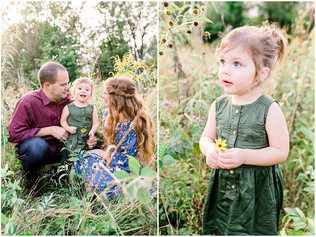 The Thompson Family | Eagle Creek Park | Indianapolis Family Photographer