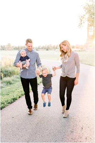 The Plumlee Family | Coxhall Gardens, Carmel Indiana | Indianapolis Family Photographer
