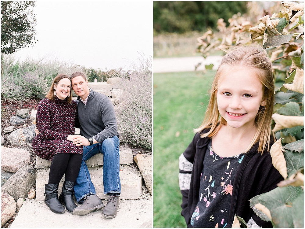 winery family session