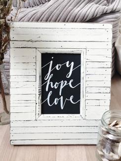 Joy Hope Love