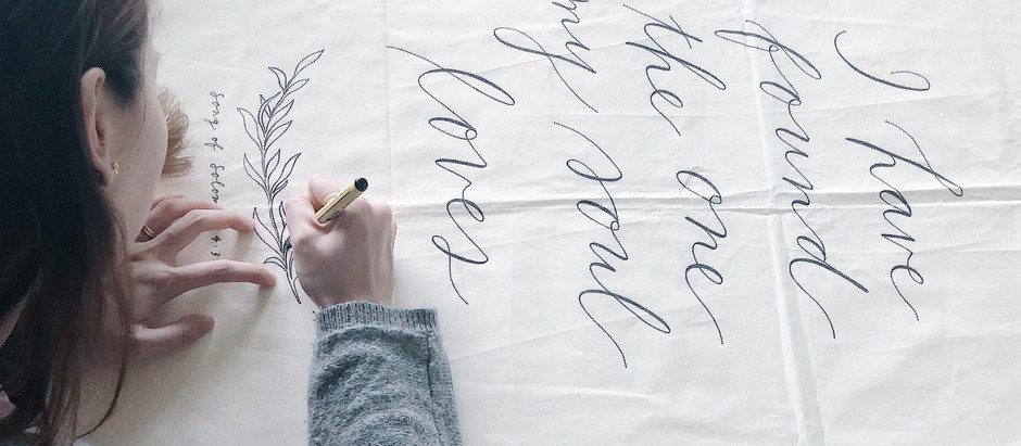 Much-loved hand-crafted fabric banners