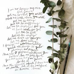 Prayer of Covenant