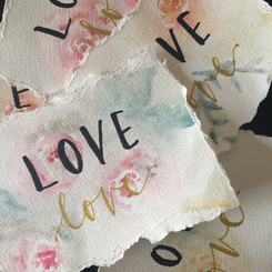 Love watercolour notecards