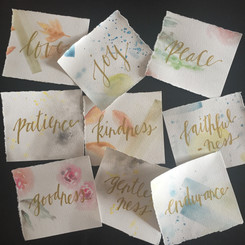 Watercolour note cards