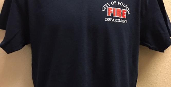 Folsom Fire Short Sleeved T-Shirt