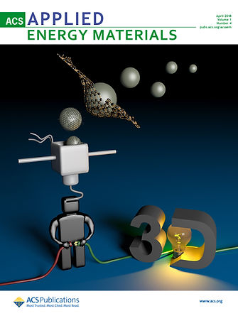 Cover ACS Applied Energy Materials 2018.