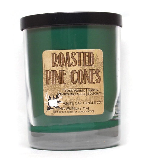 Roasted Pine Cones, fresh greens scented candle, wholesale, retail