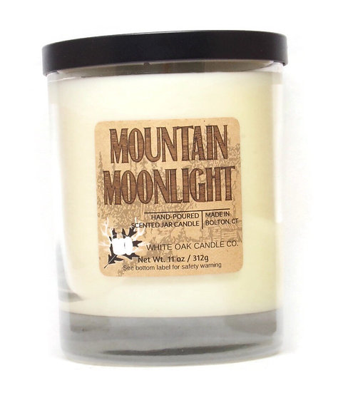 Mountain Moonlight, Winter Woods scented candle. Wholesale retail