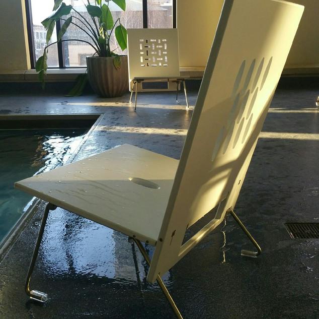 AngelBoo   American Made   Waterproof Folding Pool Furniture