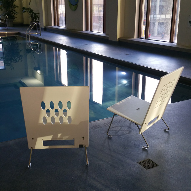 AngelBoo   Made in the USA   Long Lasting All Weather Pool Chairs