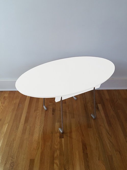 "Oval, Lounge Table, 23""x36"""