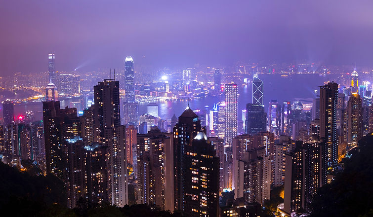 scenic-view-of-city-during-nighttime-707