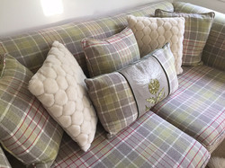 2 Seater mock Chesterfield sofa