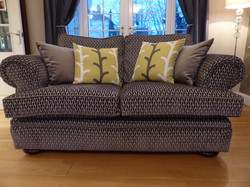 Upcycled 2 Seater Sofa