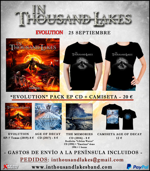 "IN THOUSAND LAKES ""EVOLUTION"" PRE-PEDIDOS"