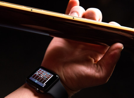 Wristruments: The Smartwatch That Teaches You How to Play Guitar