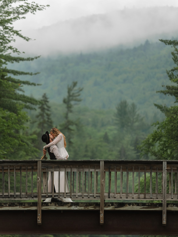 Passionate Mountainside Elopement- Albany, New Hampshire