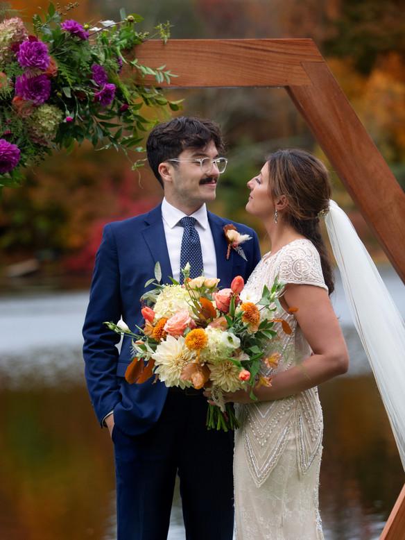 Intimate Farmhouse Wedding-Kent, Connecticut