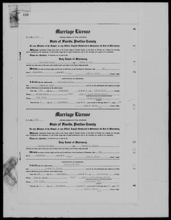 Sylvester Marriage Record