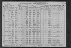 Frank and Angeline Gavin 1930 Census