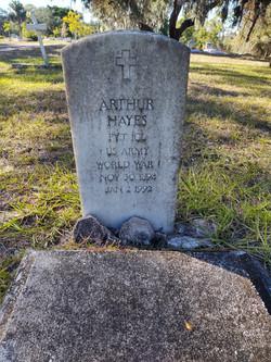 Arthur Hayes WWI Memorial