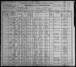 Mahalia Jones Census Records