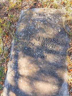 Dr. E J Moses Memorial