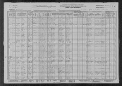 Elzie Green Census Record
