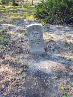 Sylvester P Lewis WWII memorial