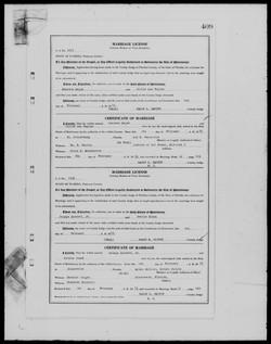 george dorsett marriage record