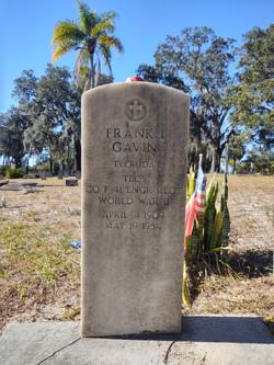 Frank Gavin Veteran Memorial