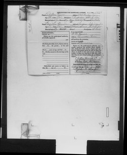 Clifton Knox Marriage Record