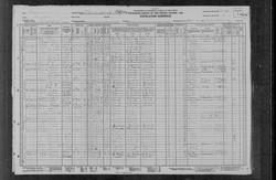 Jacob Reece Census Record